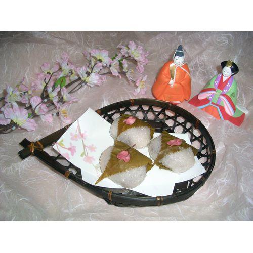 レンジで作る道明寺餅(13個分)