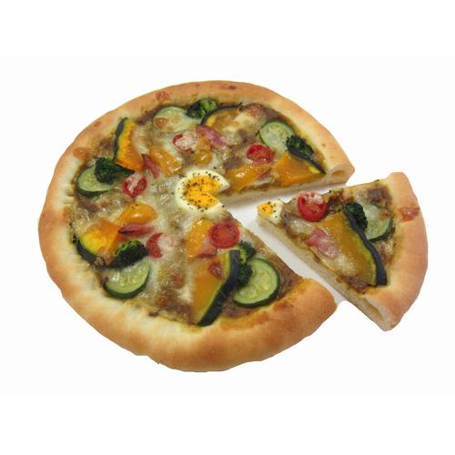 耳まで美味しいカレーピザ