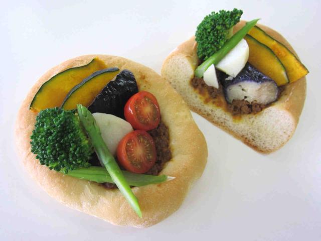 夏野菜カレープレート