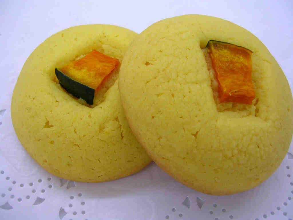 秋薫るかぼちゃのクッキー