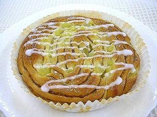 りんごとメープルのパン