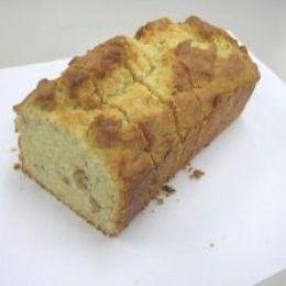 バナナパウンドケーキ(18cm型2本分)
